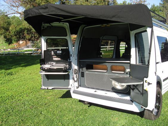 Ford Transit Connect Camper Conversion By Khd Campers By Kevin Hornby Designs Via Flickr Van Camping Camper Van Camper