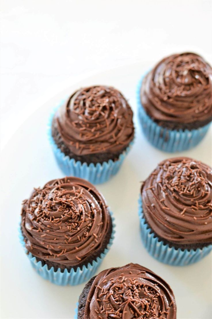 """Super Soft Chocolate Cupcakes Whip up these super soft chocolate cupcakes for parties, afternoon teas- or for """"just because"""". They are incredibly moist, rich and chocolatey and so easy to make!"""