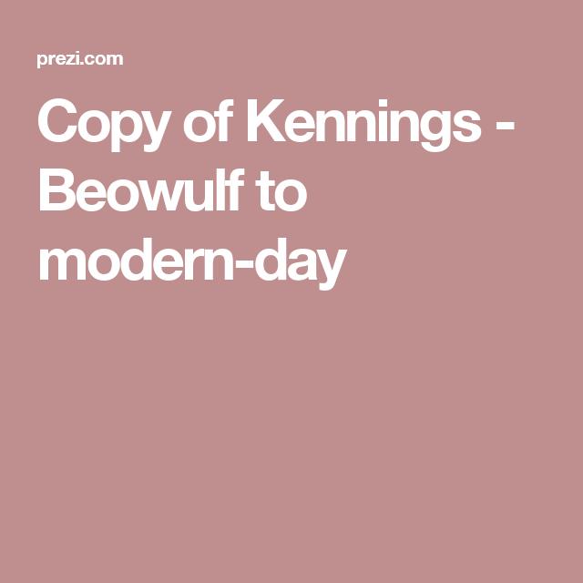 5 kennings in beowulf