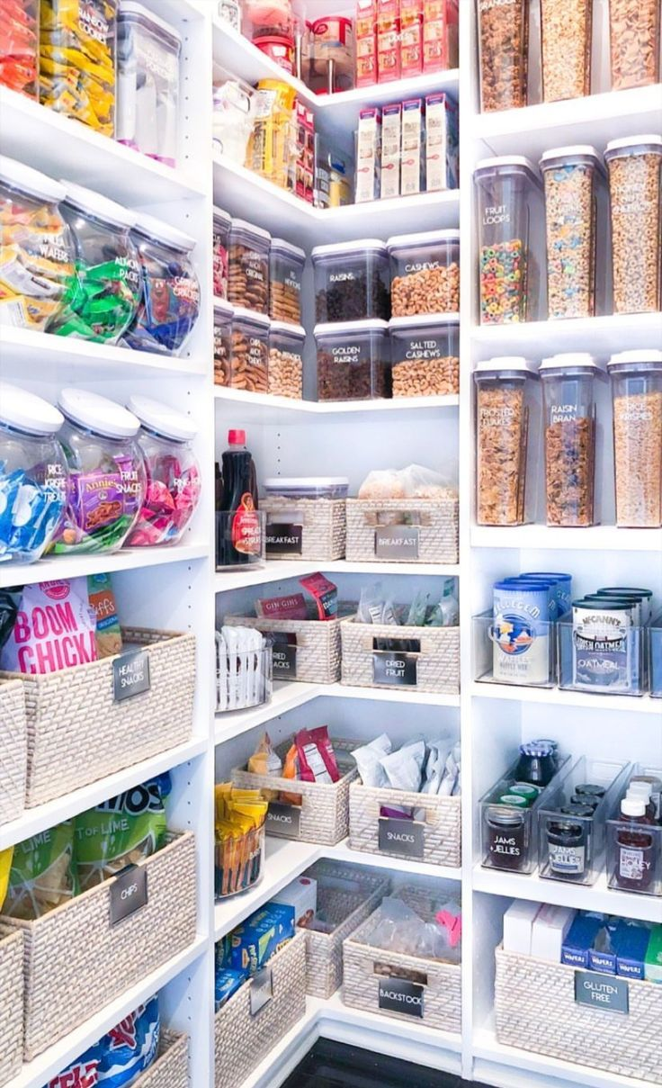 ideas for kitchen pantry organization  #pantry #pantryorganization #kitchenpantry #kitchenstorage #kitchenstorageideas
