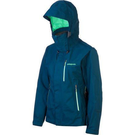 Patagonia Womens Piolet Jacket Turquoise