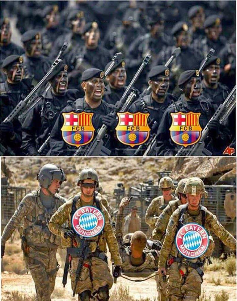 Barça VS Bayern !!! InsoliteFoot Insolite