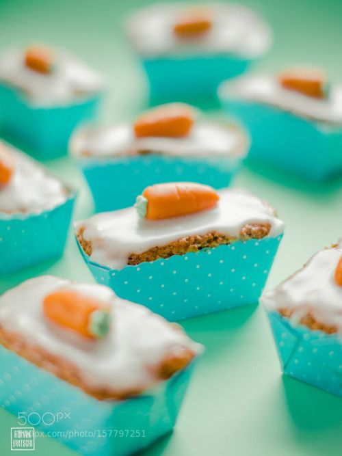 Sweet Little Carrot Cakes by bratro  IFTTT 500px