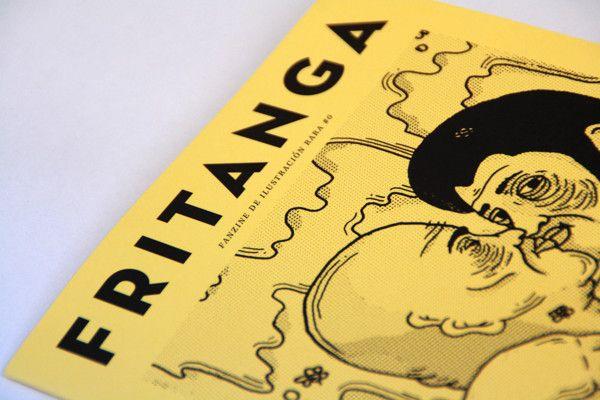FRITANGA FANZINE #0 by Jesso García, via Behance
