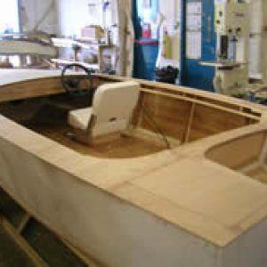 14′ V hull stitch and glue boat – Jamie Poynton – Boat Building Academy