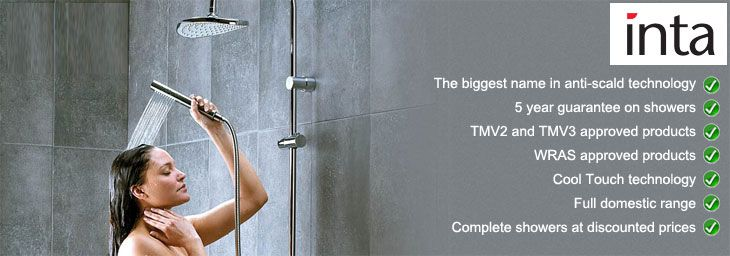 Inta have become one of the biggest names in the showering and bathroom industry for manufacturing safe and stylish products that are not only affordable, but certified by many official bodies.