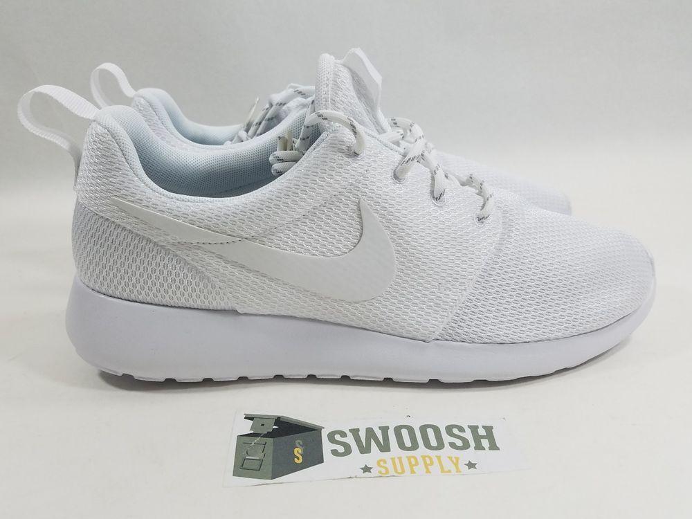 b2873ced830e Nike WMNS ROSHE ONE 511882-111  WHITE WHITE  sz 8.5 Men s 7 Triple White   Nike  Comfort