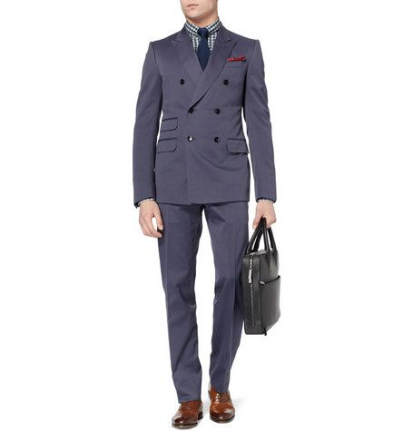 Gucci Signoria Double-Breasted Suit