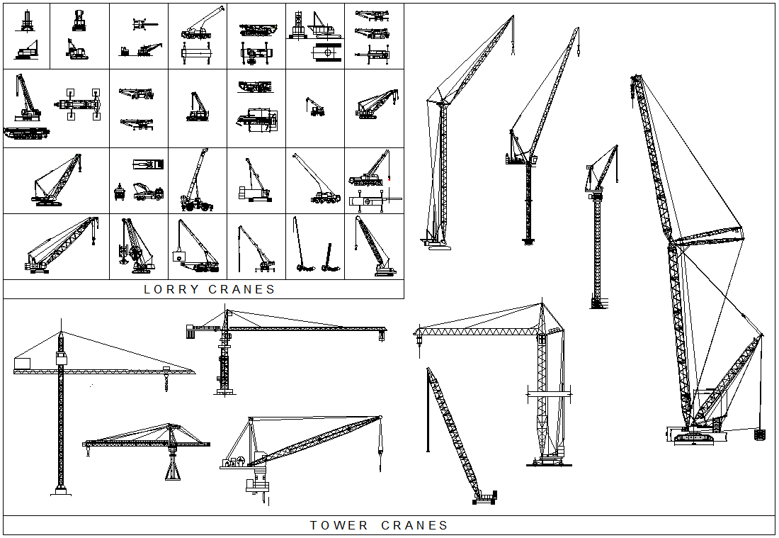 medium resolution of construction crane top view google search