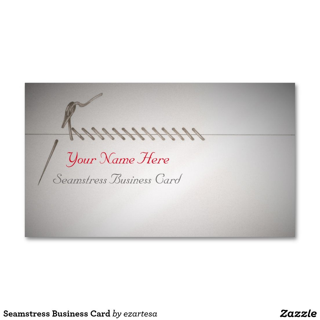 Seamstress Business Card | DESIGN | Pinterest | Business cards and ...