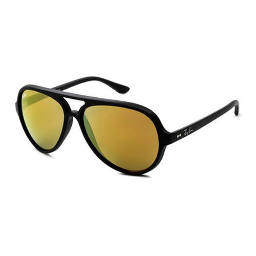 72e5f0b33b3599 Ray-Ban Cats 5000 Aviator Sunglasses 59Mm (Matte Black