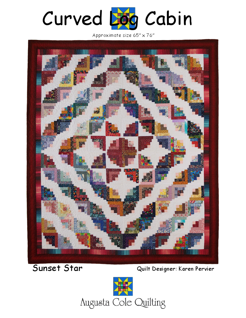 Curved Log Cabin Pattern Quilts Made By Other Quilters
