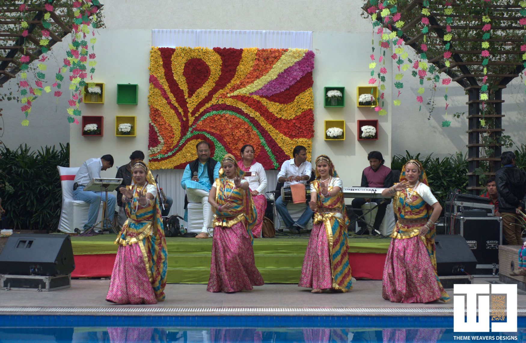 A Rajasthani Mehendi Decor Theme with a Modern Twist for a