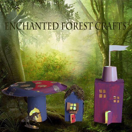 Enchanted Forest Crafts Forest Crafts Enchanted Forest Birthday