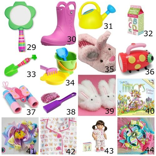 Toddler girl easter basket ideas easter pinterest basket toddler girl easter basket ideas and baby negle Choice Image