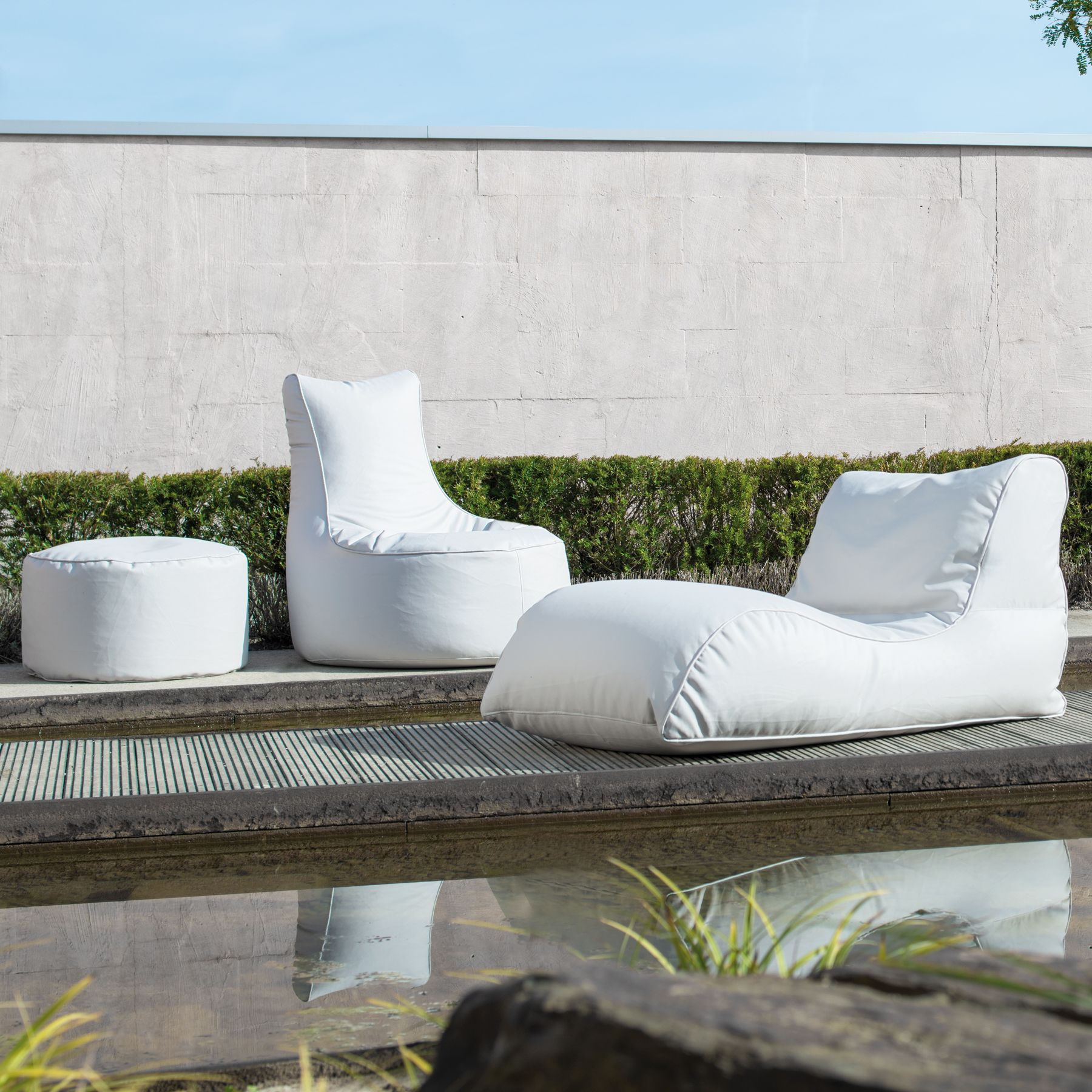 Lounge Sessel Für Draussen Sitting Bull Chill Xl Taupe In 2019 Balkon Ideen Chaise