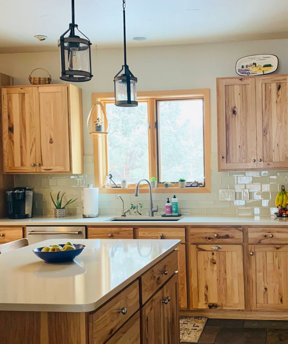 Edesign Rustic Kitchen Makeover Before After Rustic Kitchen Alder Kitchen Cabinets Rustic Kitchen Cabinets