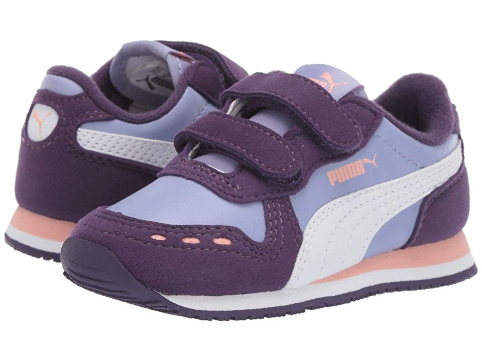 Puma Kids Cabana Racer SL Velcro (Toddler) Girls Shoes Sweet