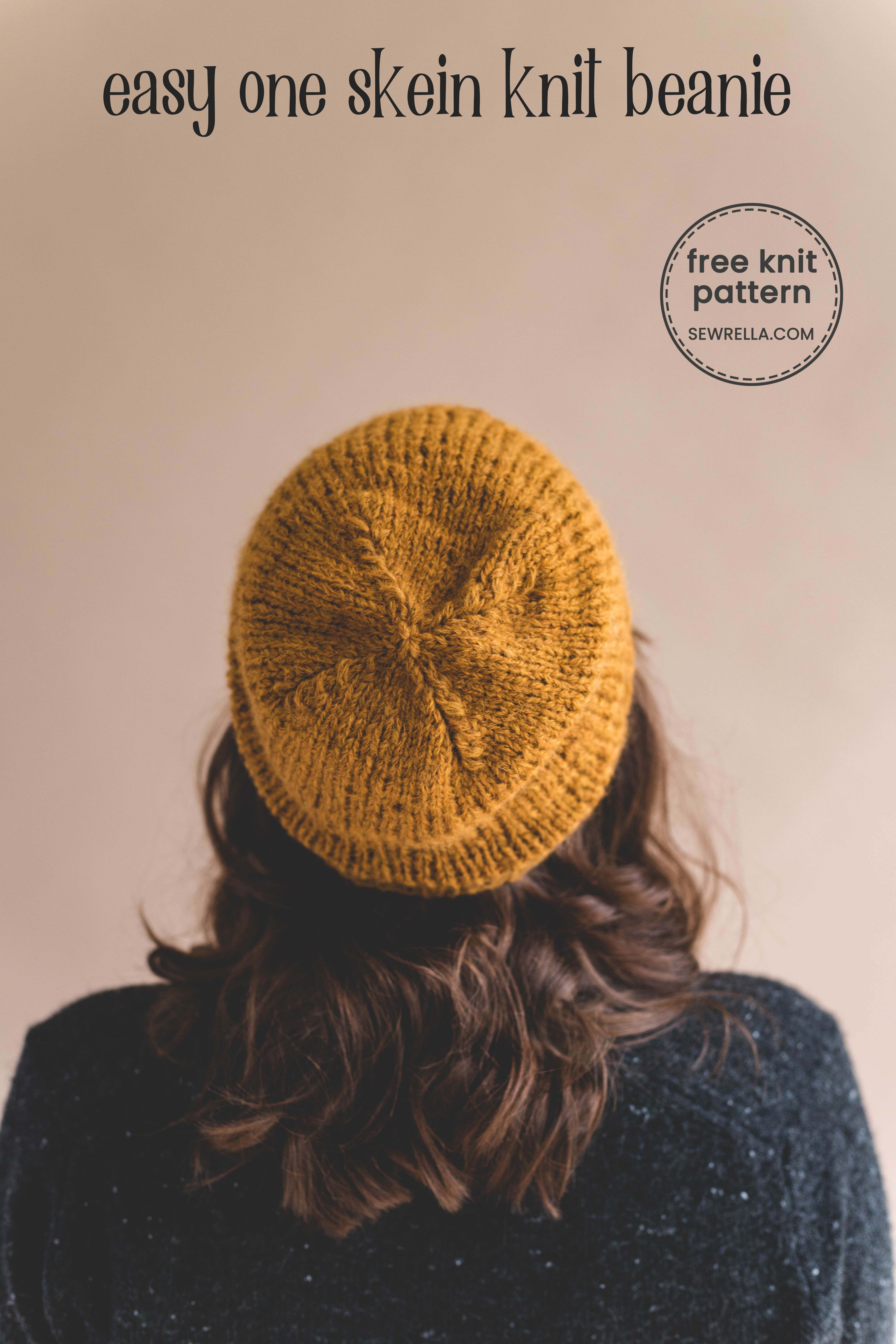 01efc74c073 Gwen is a super quick and easy unisex knit pattern