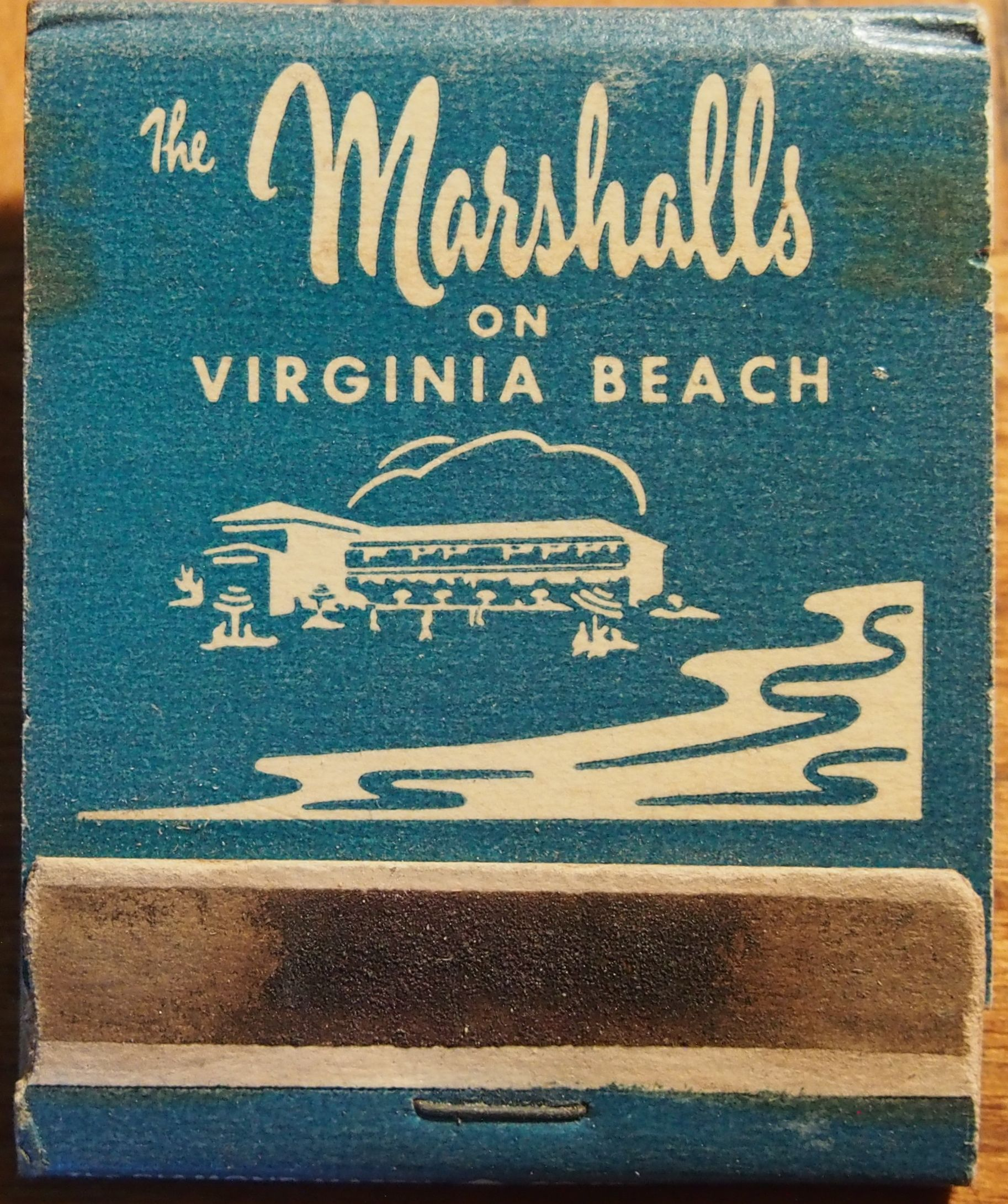 The Marshalls On Virginia Beach Front-striker #matchbook