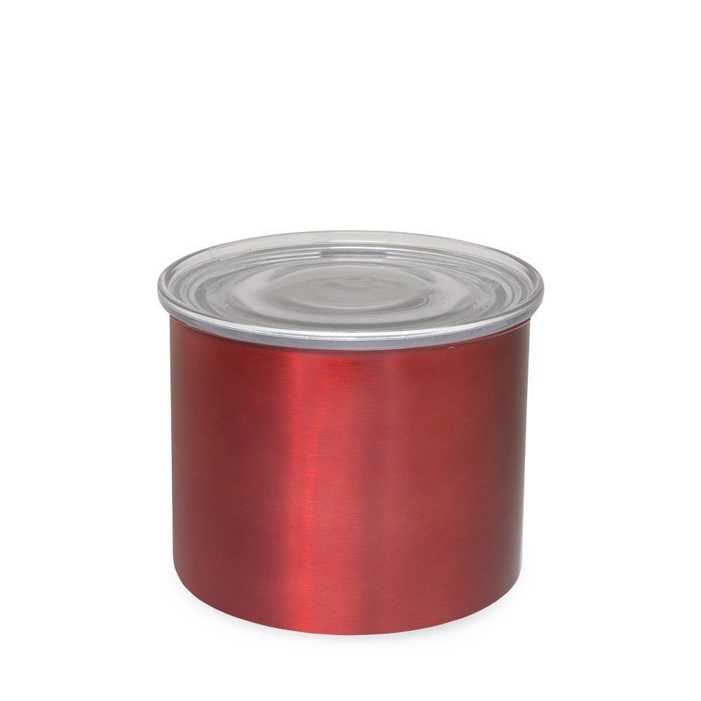 AirScape Candy Apple Stainless Small 4-inch Food Storage Canister