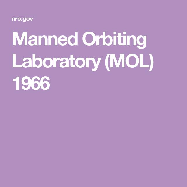 Manned Orbiting Laboratory (MOL) 1966 | Cardboard Gemini | Space