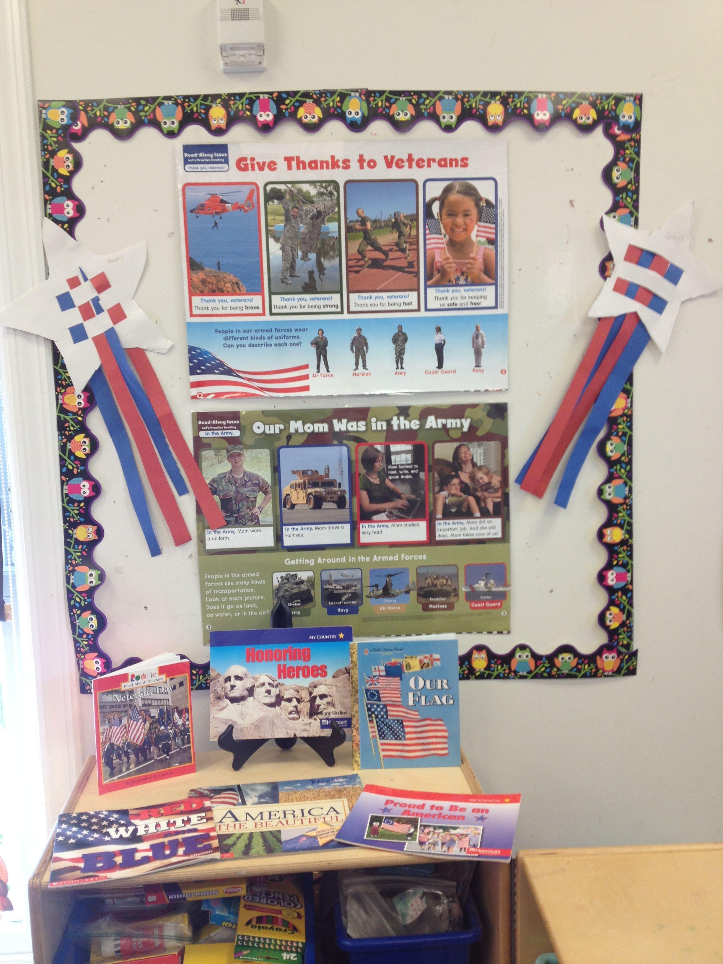 Veterans Day Preschool Craft