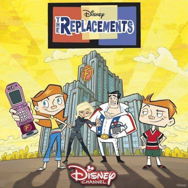 The Replacements 2006 2009 Disney Pinterest Disney Disney