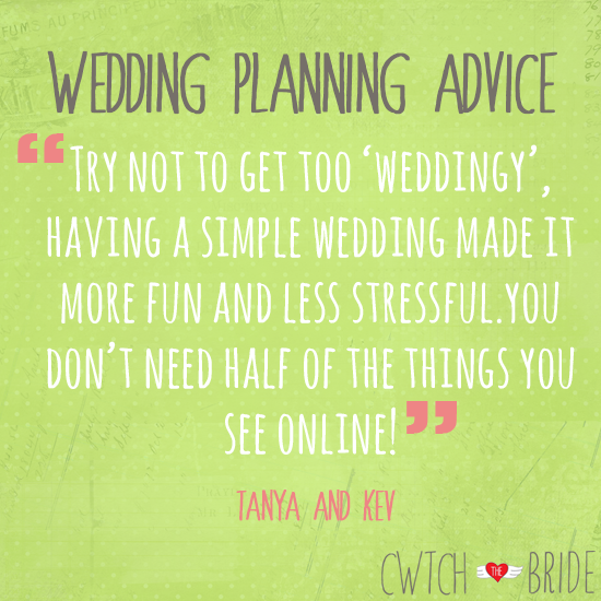 Wedding Planning Advice Try Not To Get Too Weddingy Having A Simple Made It More Fun And Less Stressful