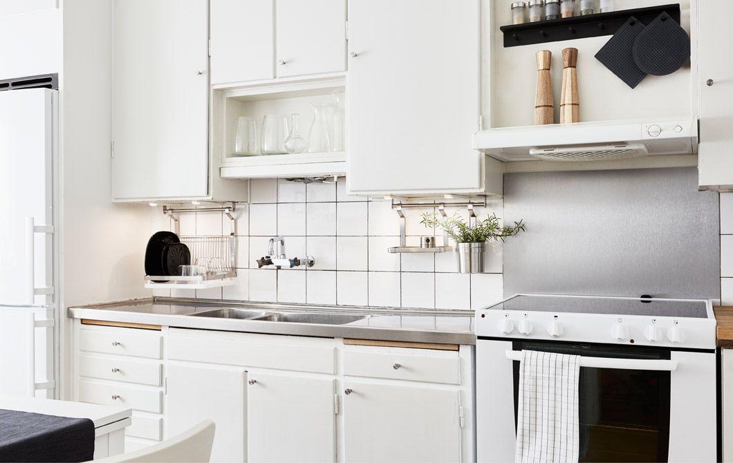 Una cucina rinnovata con idee semplici ed economiche - IKEA | home ...