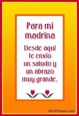 021fae809e feliz dia de la madre madrina - Google Search