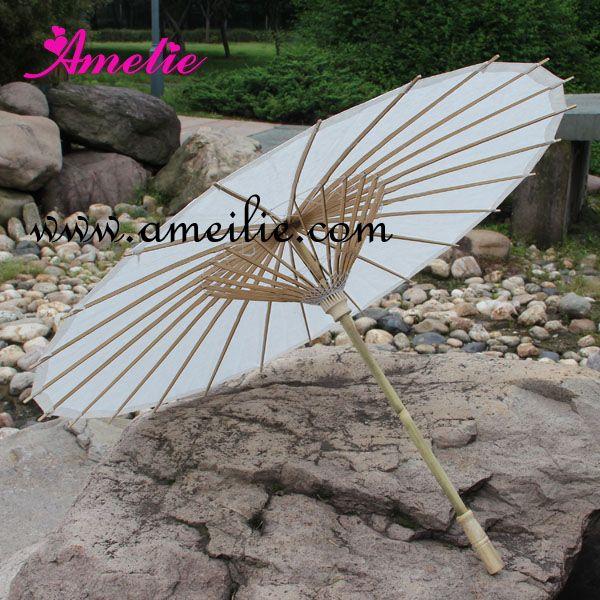 Encontrar Más Sombrillas de novia Información acerca de 20 unids lote  Paraguas Parasol De Papel 01794fe7b13