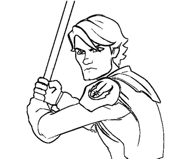 anakin skywalker coloring pages | coloring Pages | Pinterest ...