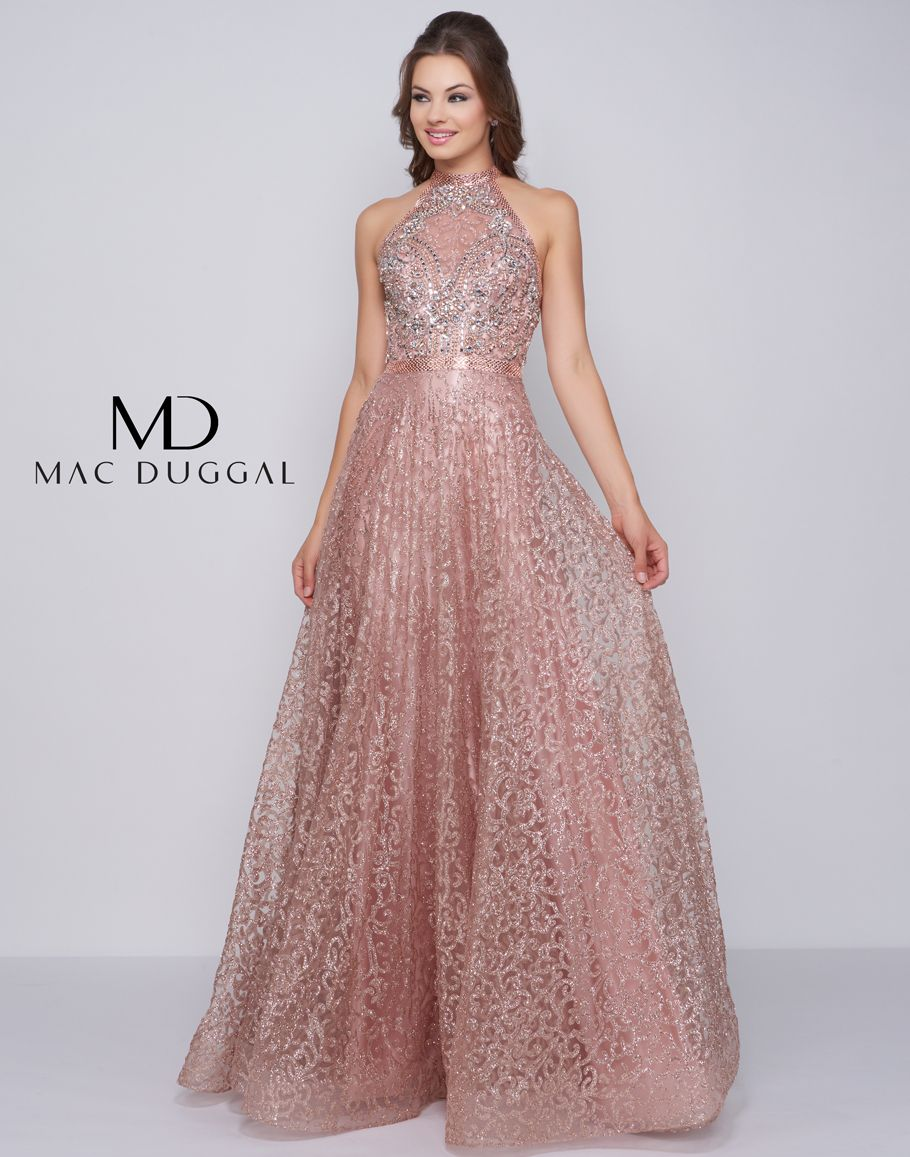 c3750b5b4e49 You will feel like a million bucks in this stunning full length lace sheath  dress complete with a high halter neckline
