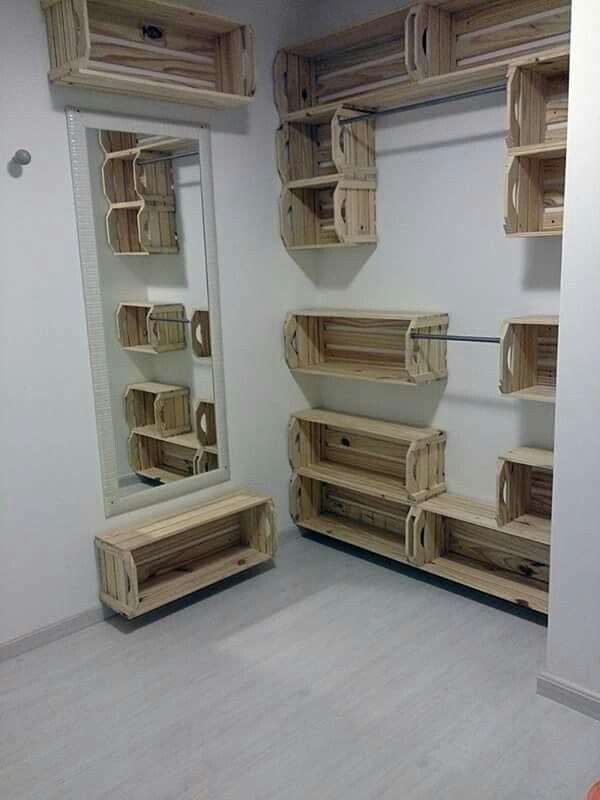 Pallet Shelves For The Carport Etc Diy Furniture
