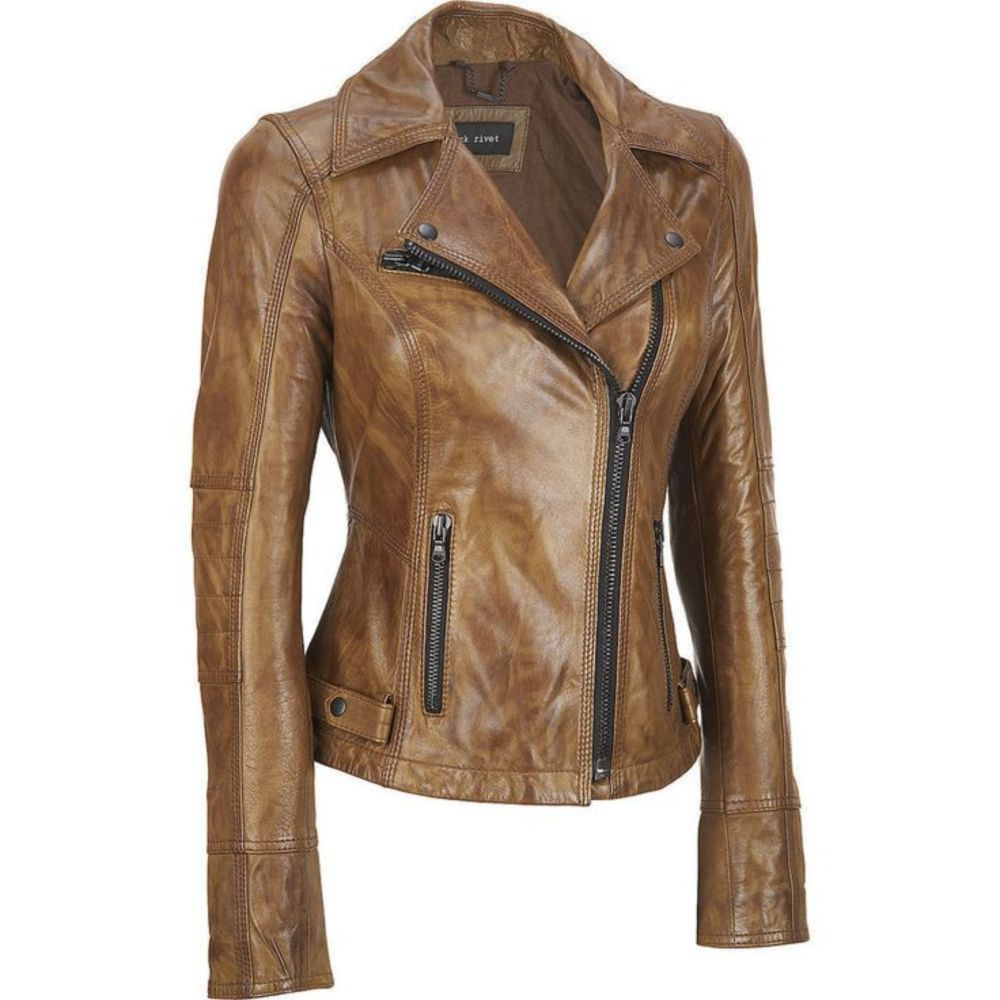 Awesome 52 Cool Leather Jacket for Women from https://www.fashionetter.com/2017/06/24/52-cool-leather-jacket-women/