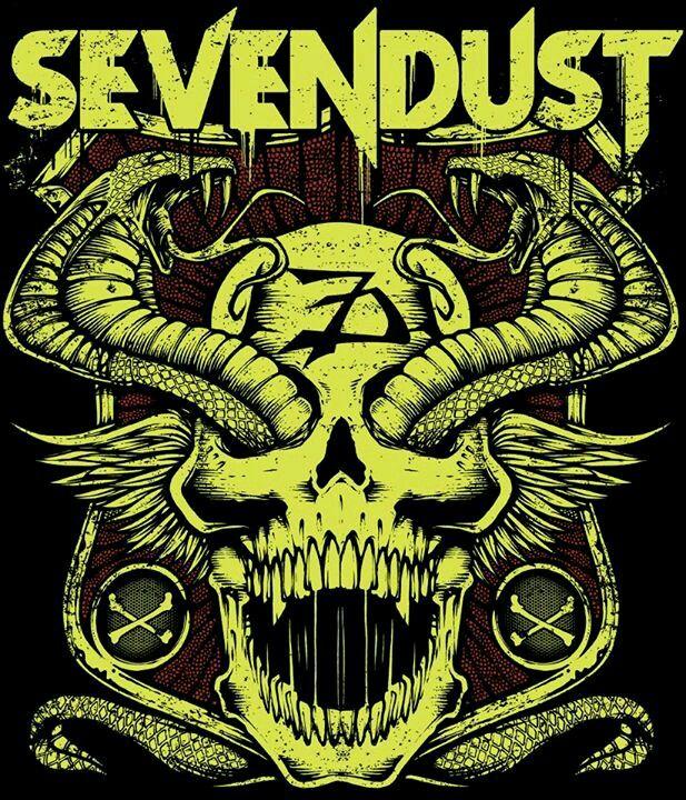 Sevendust poster Music bands, Metal music, Music poster