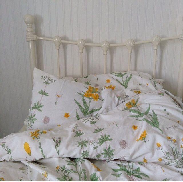 Cute Botanical Ikea Bedsheets Photo By Saneudeolhc On Instagram Designerbedsheets Bed Linens Luxury Luxury Bedroom Inspiration Bed Linen Design
