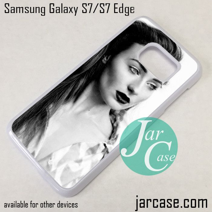 sophie turner 20 Phone Case for Samsung Galaxy S7 & S7 Edge
