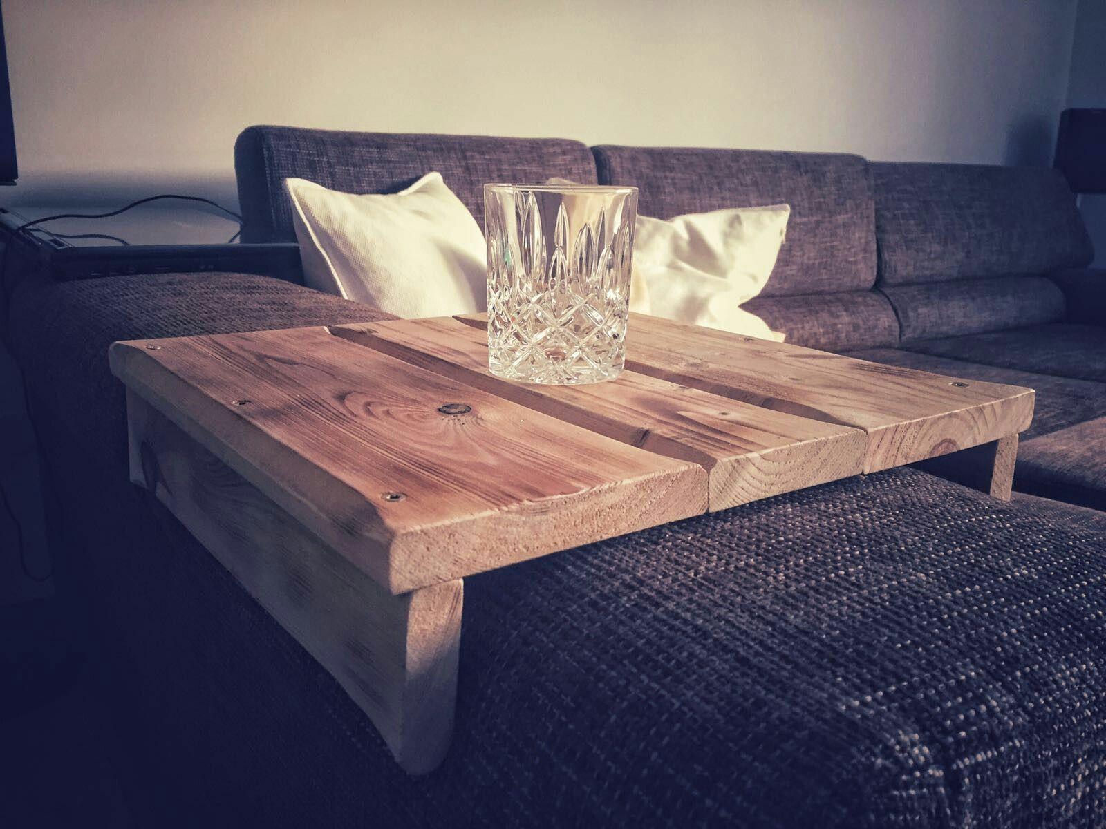 sofabrett / sofa ablage aus paletten | wohnzimmer | pinterest