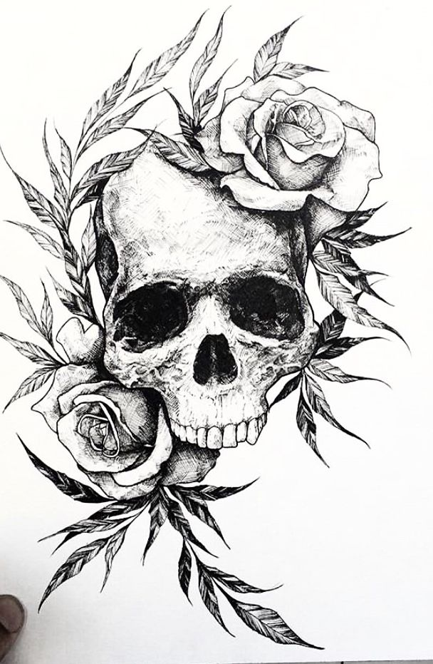 Pin By Alena Reyes On Skull Art Skull Tattoos Skull Art Skulls Drawing