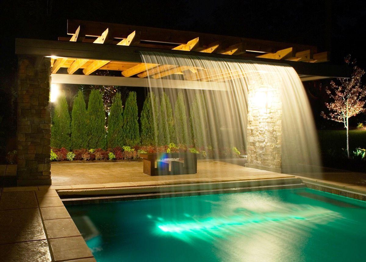 Trellis Water Feature Swimming Pool Trellis Pinterest
