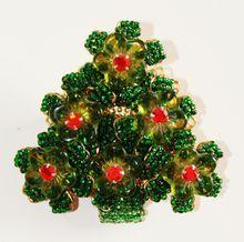Ian St. Gielar Stanley Hagler Signed Christmas Tree Brooch