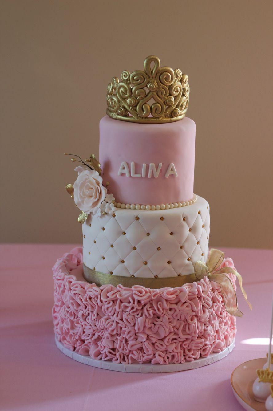 Princess Theme Babyshower Cake