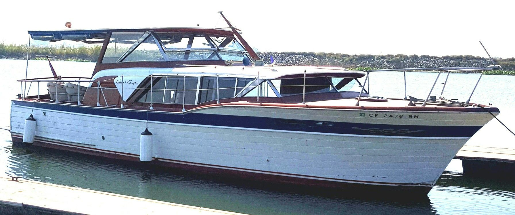 1960 Chris Craft Constellation 36 Boat Building Wooden Boats Boat