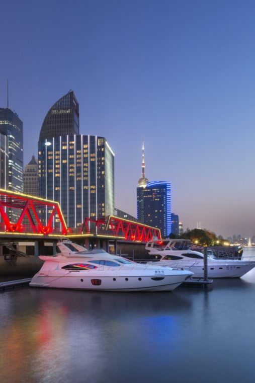 Mandarin Oriental Pudong, Shanghai, China is the FHRNews #luxury #hoteloftheday for Saturday, February 20.