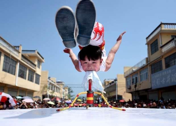 Anhui province, China (CHINA OUT) - REUTERS/China Daily