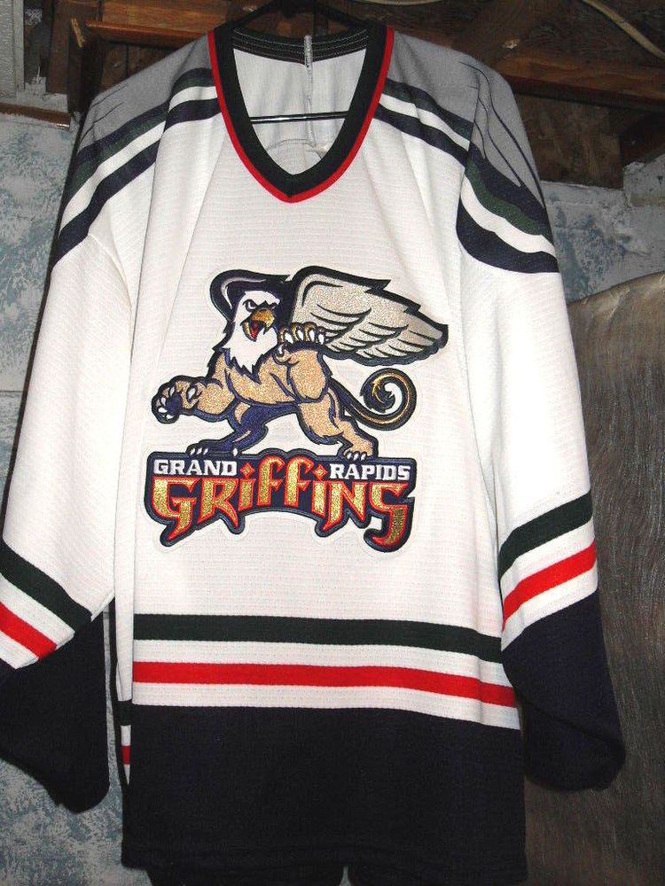 86bf1d78f GRAND RAPIDS GRIFFINS BAUER IHL HOCKEY JERSEY EMBROIDERED PATCH ADULT XL  EUC #Bauer #GrandRapidsGriffins