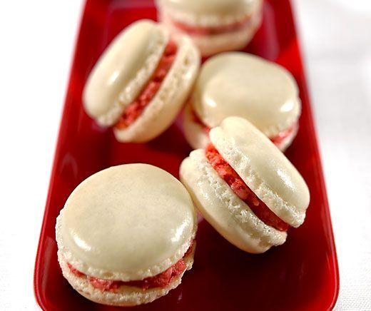 Erdbeer-Macarons #quickcookies