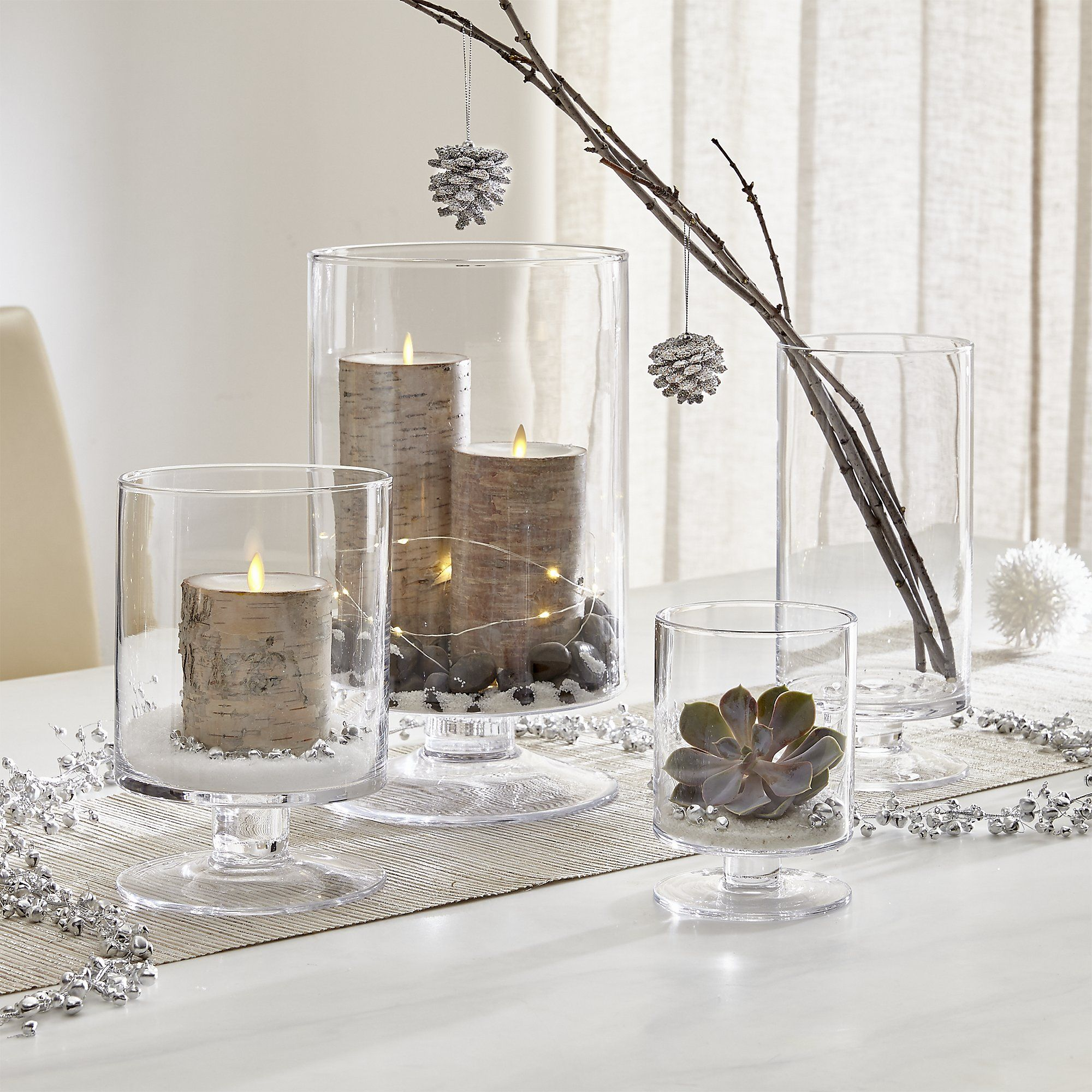 London Glass Hurricane Candle Holders Crate And Barrel Glass Hurricane Candle Holder Christmas Candle Holders Hurricane Candles